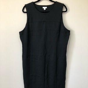 J.Jill ponte sleeveless dress
